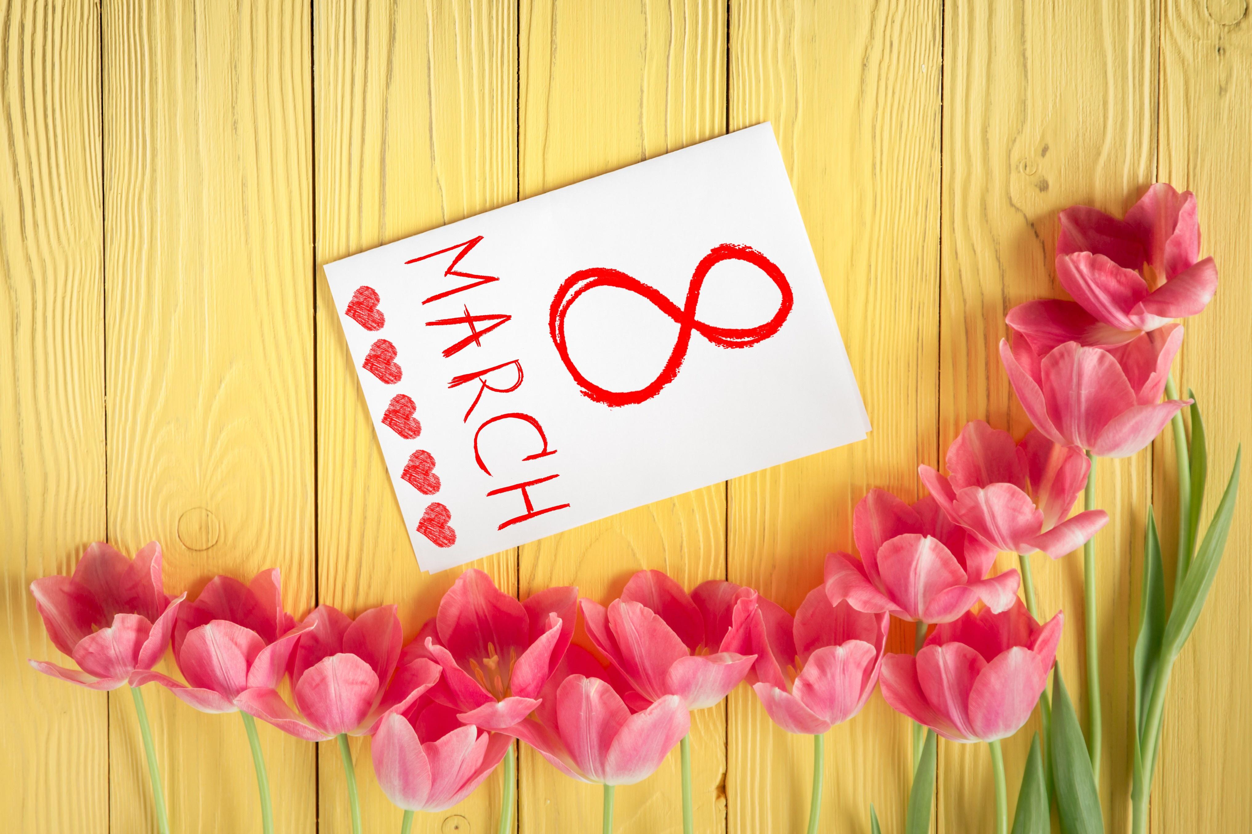 Элитные открытки с 8 марта