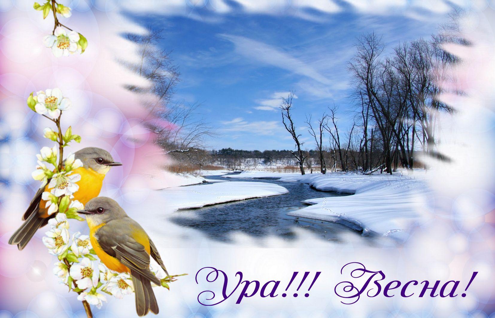 Весна ура картинка