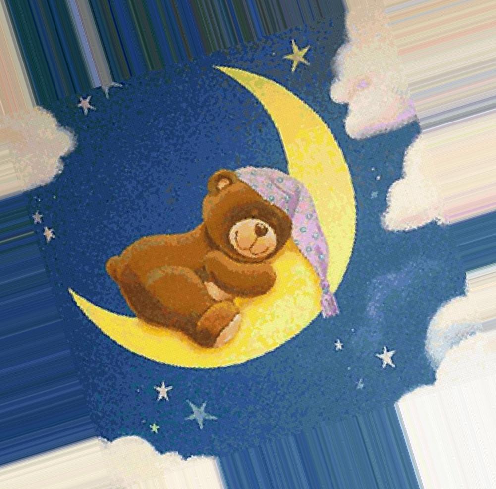 фото сказочного спящего медвежонка были уверены