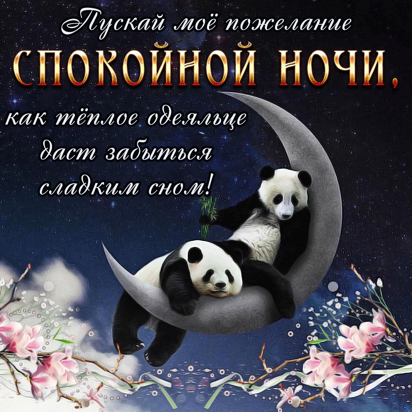 Спокойной ночи милые открытки