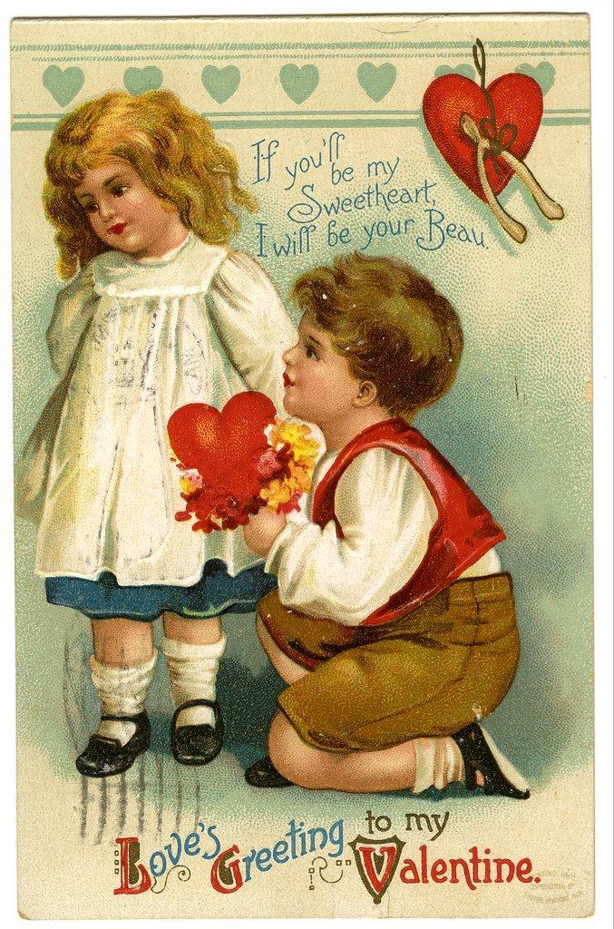 14 февраля день влюблённых день святого валентина праздник любви 14 февраля день святого валентина день всех влюблённых любовь постельные тона винтаж сердца мальчик и девочка влюблённые красивые нежные старинные сказочные нарисованные